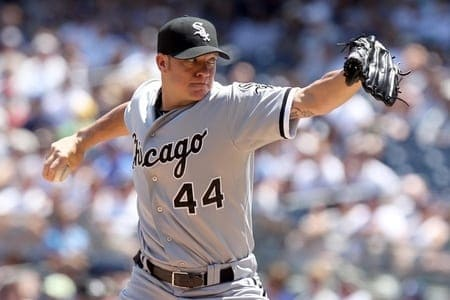 Pitcher Jake Peavy