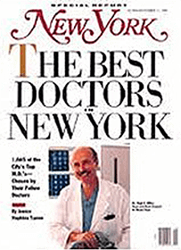 Best Doctors in New York Magazine