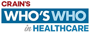 Crain's Who's Who in Healthcare Logo